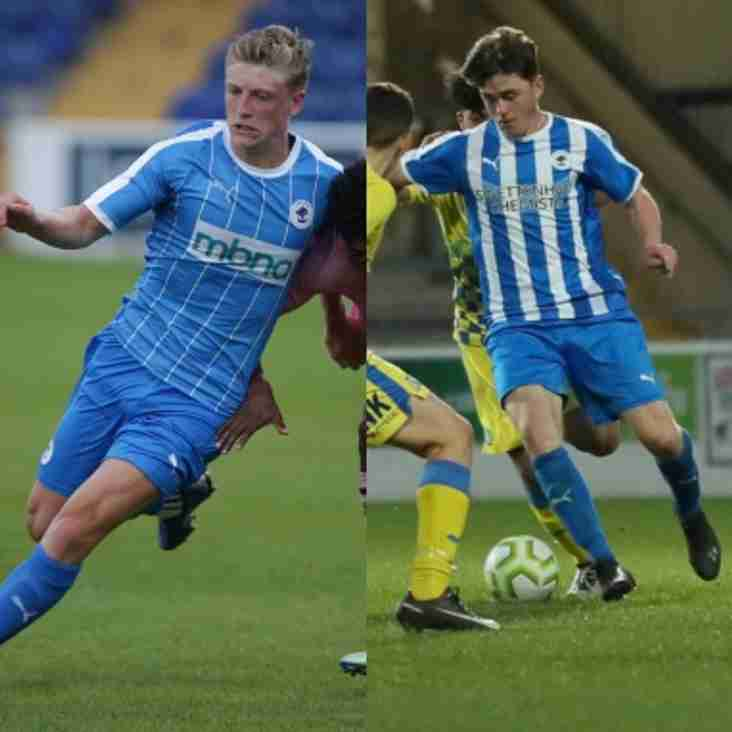 Chester pair move to Bamber Bridge on loan