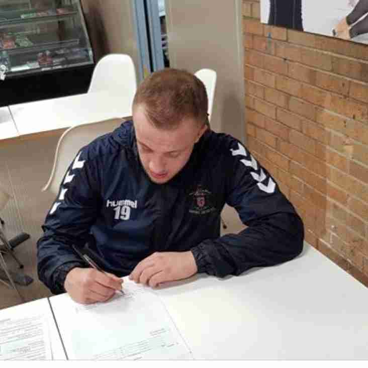 Striker signs new contract with Marske