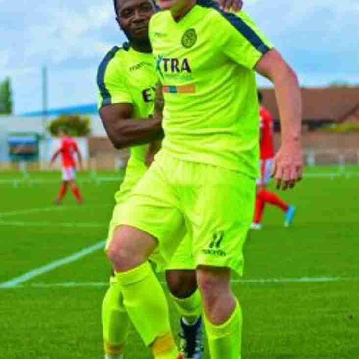 Ilkeston sign Grantham striker