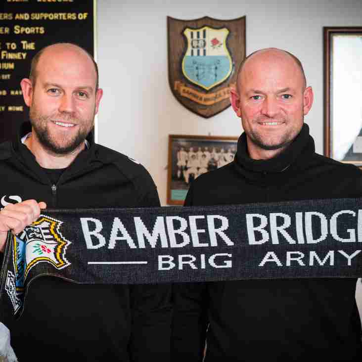 Bamber Bridge appoint new manager