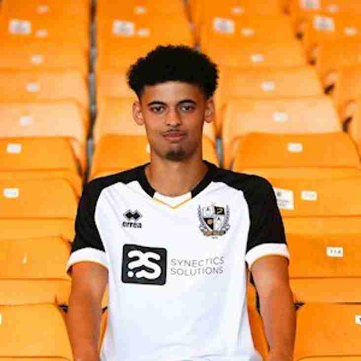 Port Vale youngster joins Kidsgrove Athletic