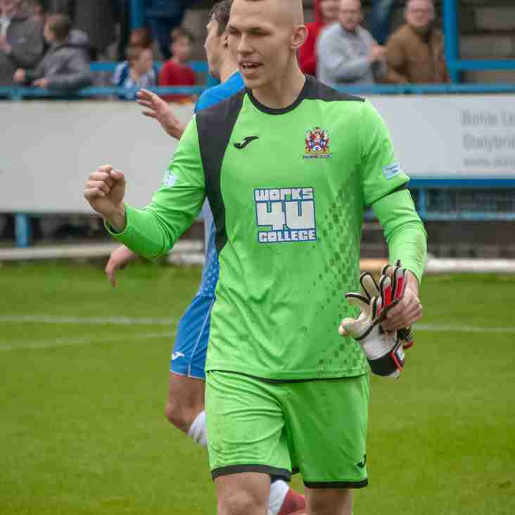 Stalybridge goalkeeper returns to Manchester United