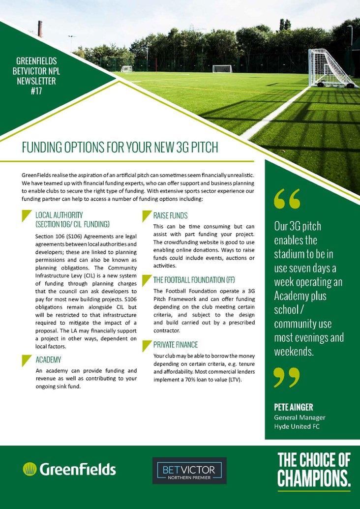 GreenFields Newsletter #17
