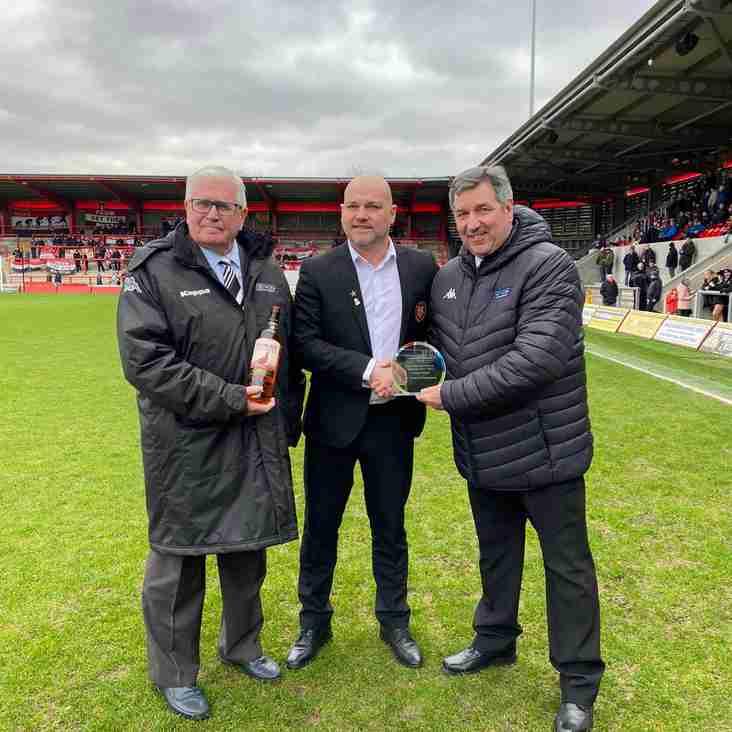 Reds receive awards