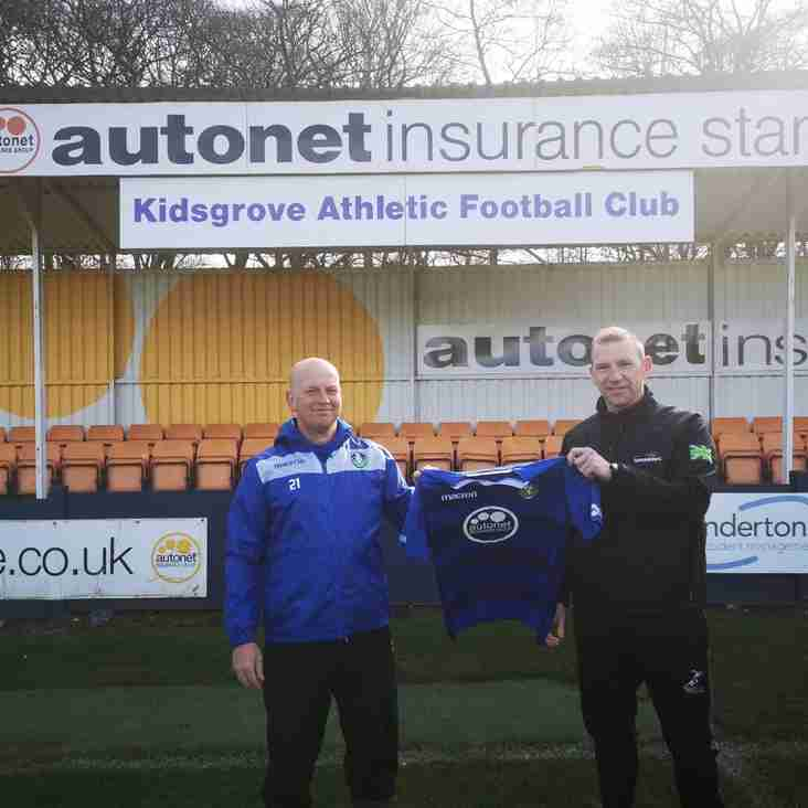Scott Dundas 'delighted' to be back at Kidsgrove