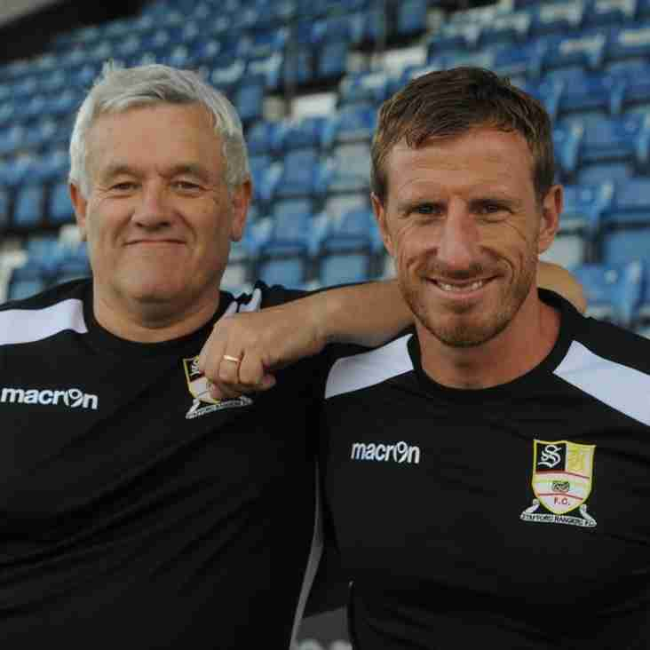 Manager departs in Stafford re-shuffle
