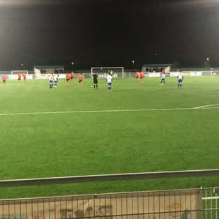 Bury beaten by both Aveley and the conditions at Parkside