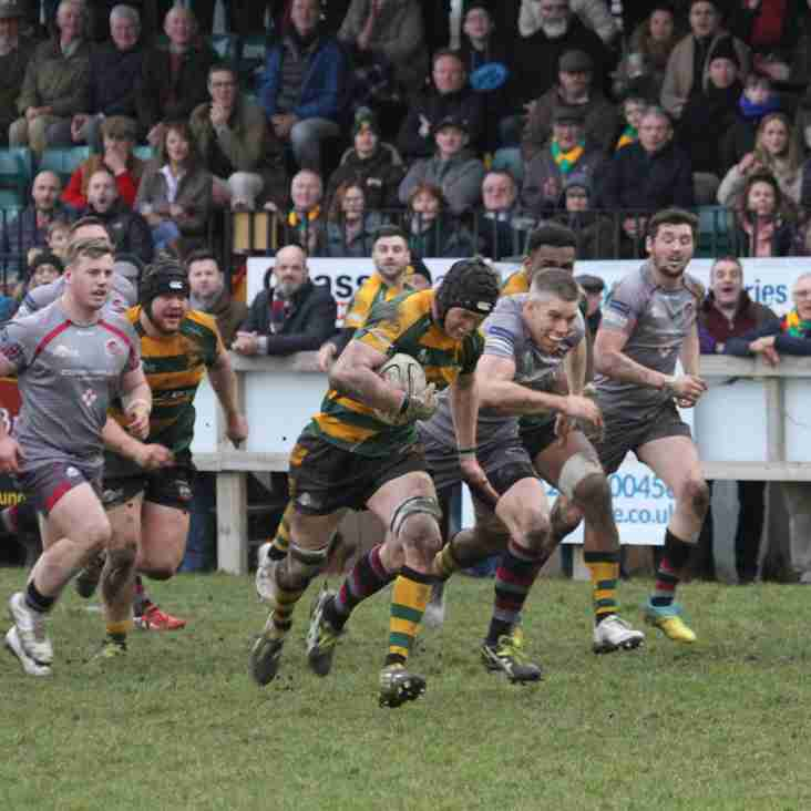 It's the last home game of the season . Bury V London Irish in a 3pm KO. Always a great day, don't miss it