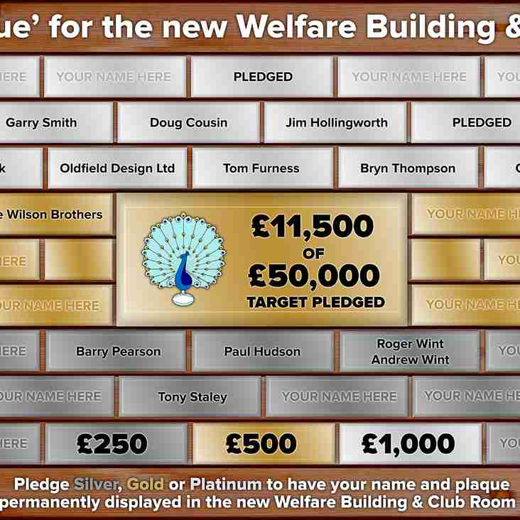 Pledge to the New Facility Fund