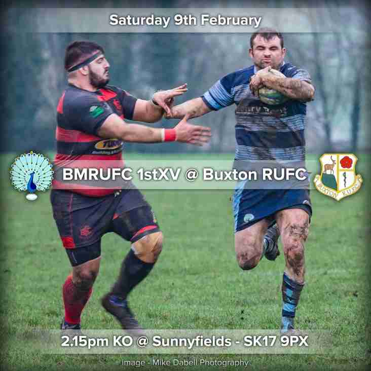Senior Rugby Saturday 9th February