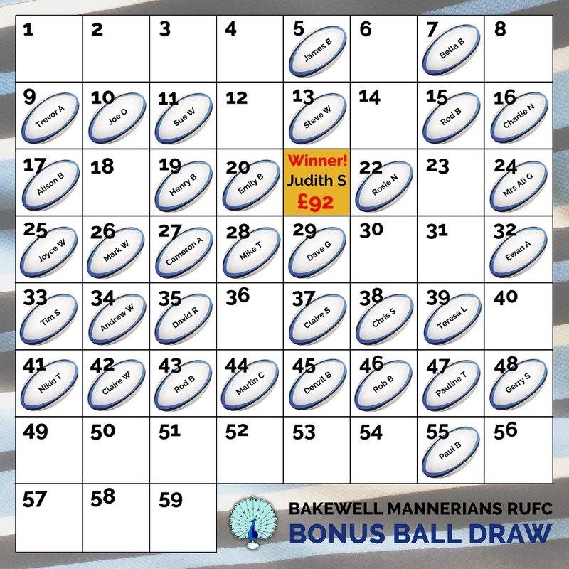 BONUS BALL WINNER!
