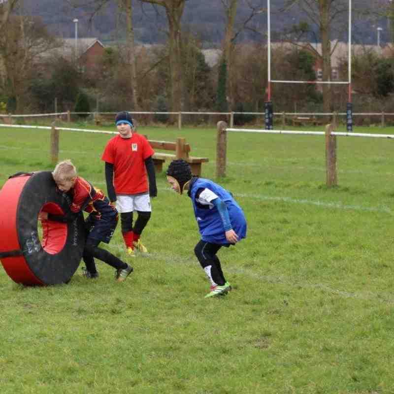 Minis section training @ Gordon League