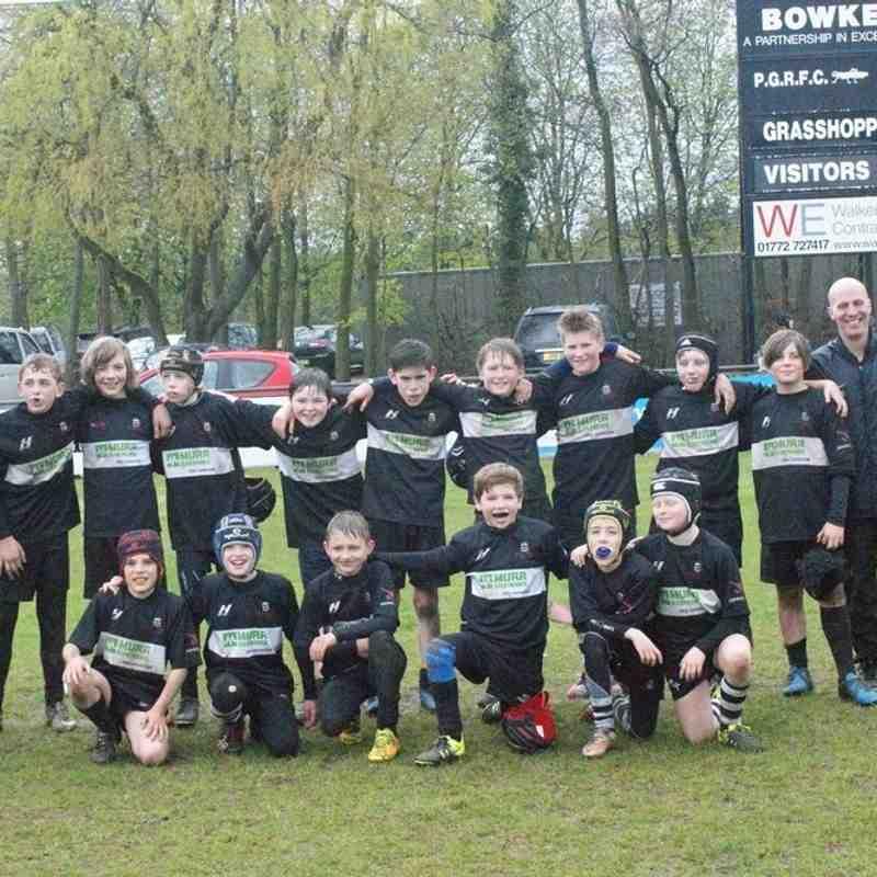 U12's Preston Grasshoppers Tournament
