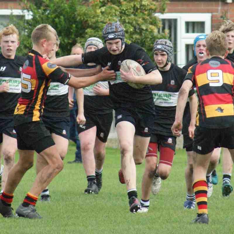 WRUFC - U15s - Heaton Moor - Cup - A - 19-27