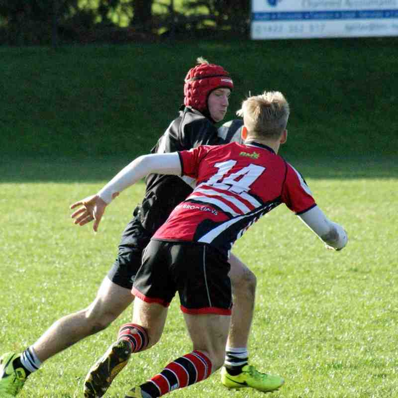 20171029 - WRUFC - U15's - Old Brodleians - A - 41 -17 (Still won't upload in the right order - sorry)