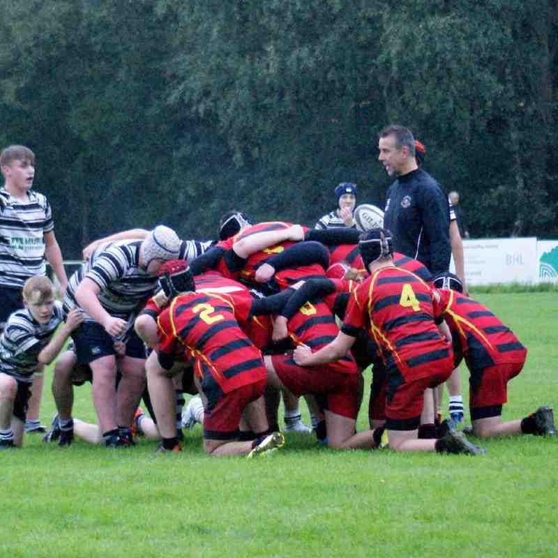 WRUFC - U16's v Ellesmere - Home - 34-5