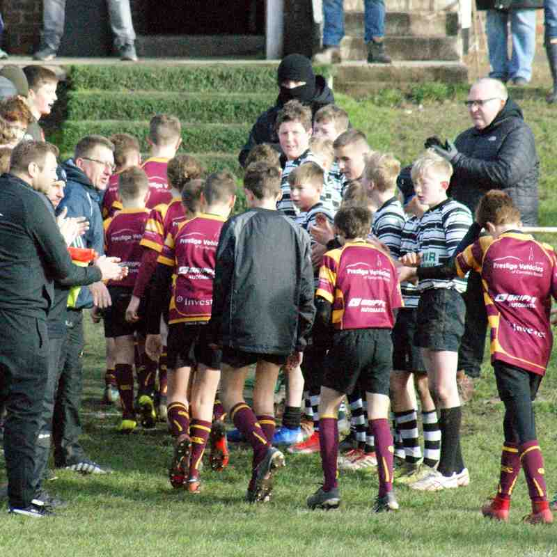 WRUFC U13's v Sheffield Tigers - Home