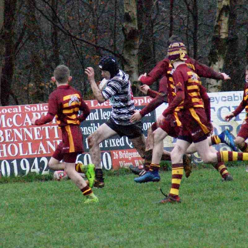 WRUFC U13's v Sedgley Park - Home