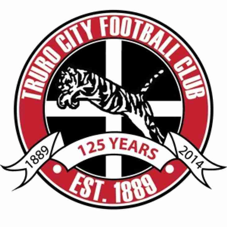 Truro City players on contract for 2015/16 Season