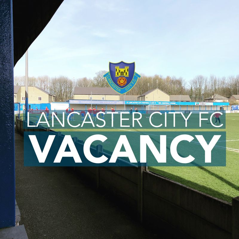 VACANCY: Matchday Bar Person