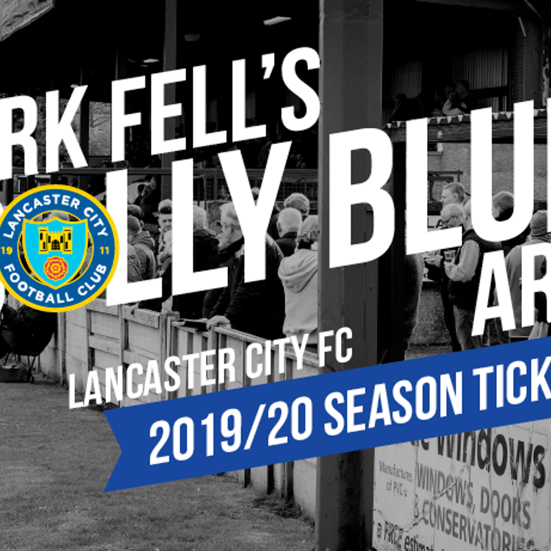 2019/20 SEASON TICKETS