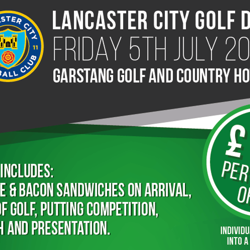 Lancaster City Golf Day - July 5
