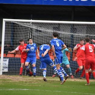 Ten man Kidsgrove move seven points away from the playoff places
