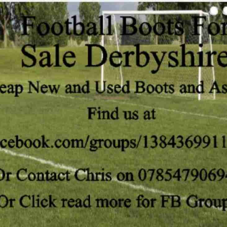 Football Boots For Sale Derbyshire