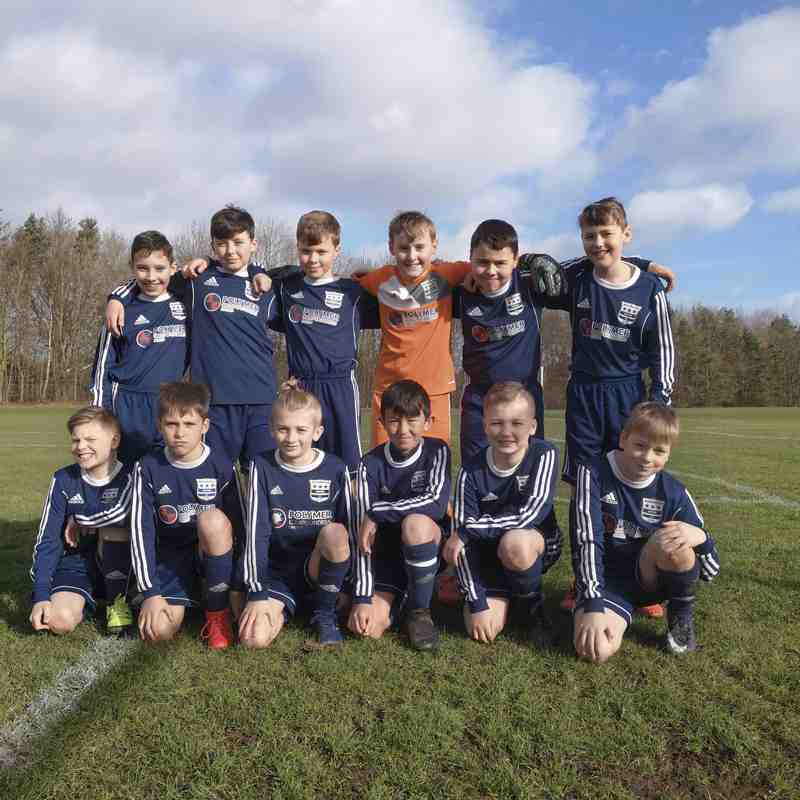 Under 11s Pin Point Squad