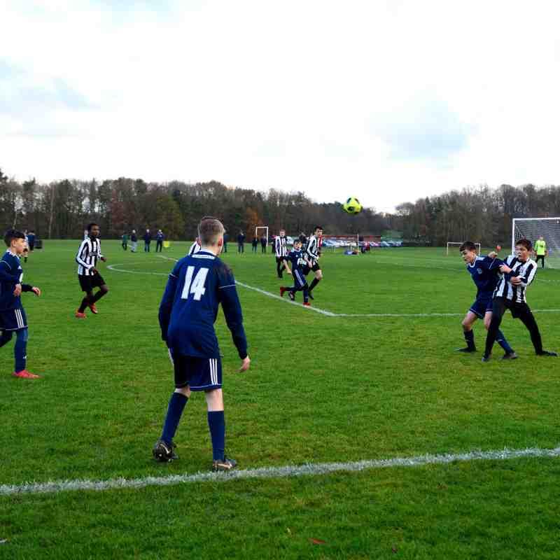 U14 Blues v Felling Magpies White 6-5