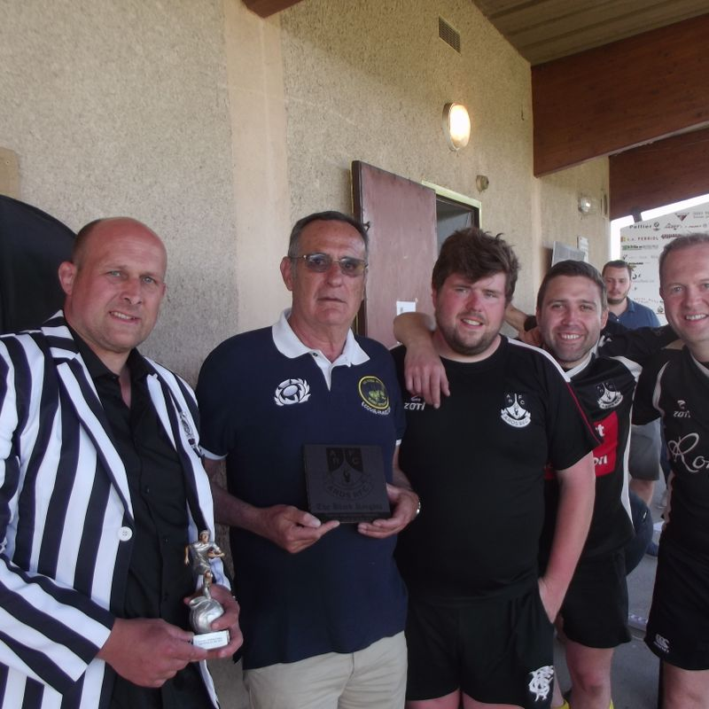 Tour Report - Black Knights in St Savin