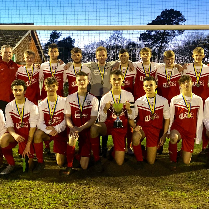 Under 18's Win The Endeavour Cup