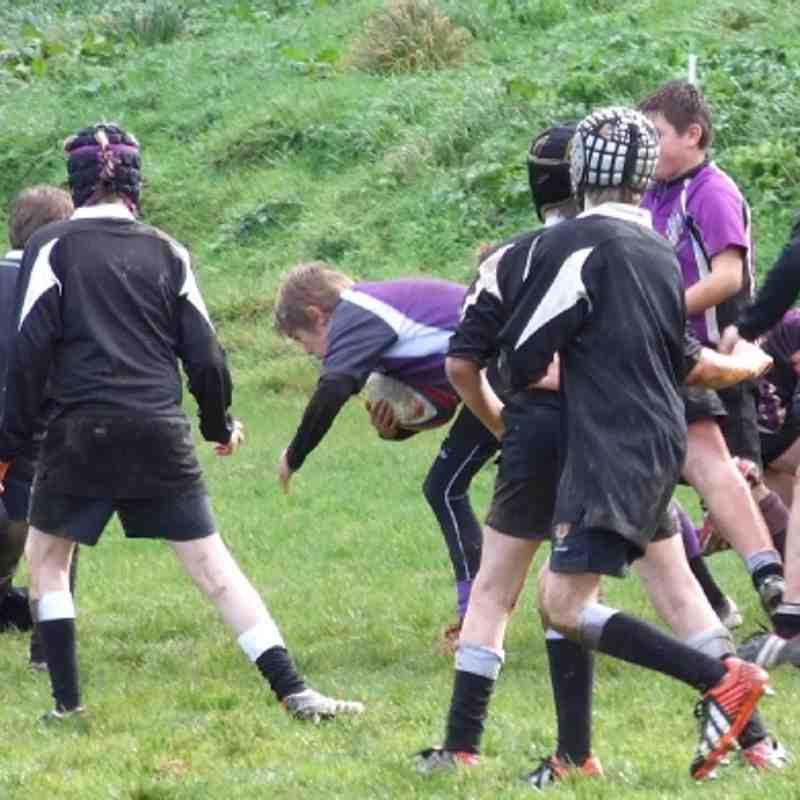Exmouth v Launceston u11's 4th Nov 2012