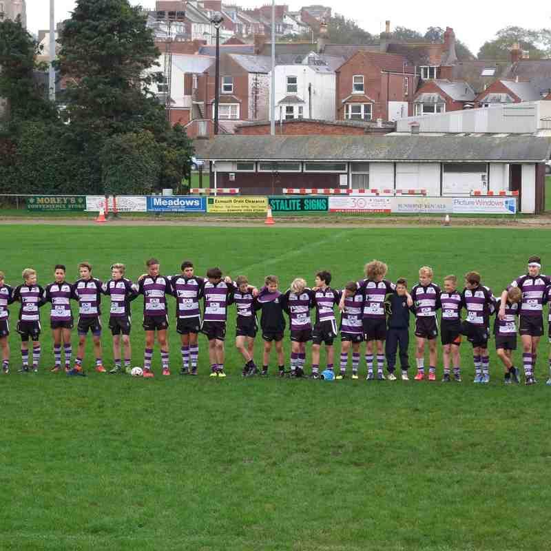 Exmouth V Ivybridge u14's cup match