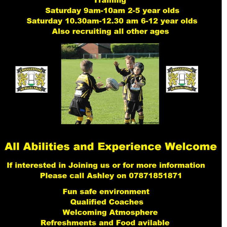 We are Recruiting for all ages<