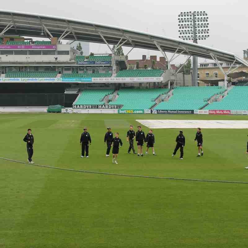 Surrey U12s v Kent @ Oval - 2015