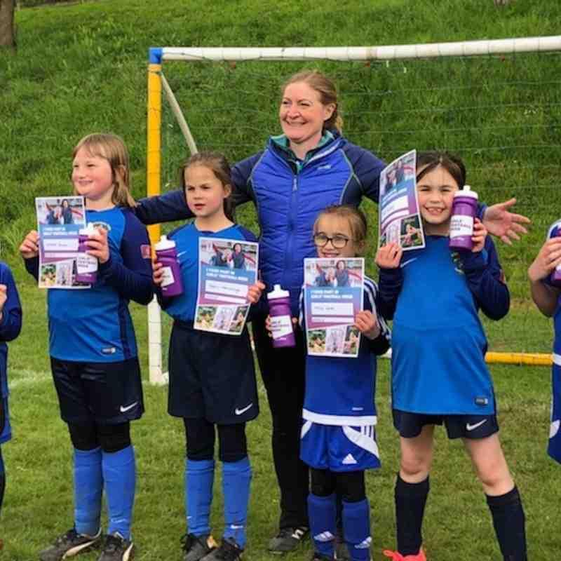 U9's Girls Football Week Tournament 2018