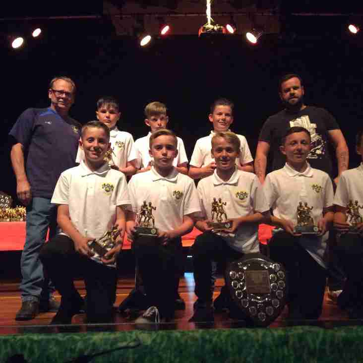 Under 13 Lions Youth Runners Up promoted to Stourbridge Youth Football League Division 1 for 2019/20