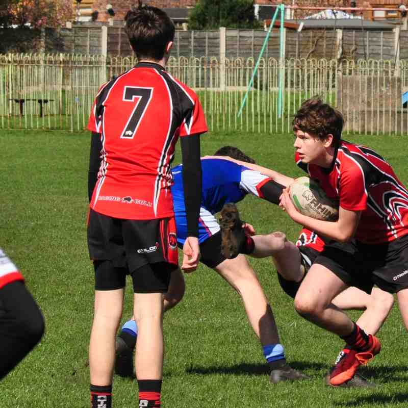U16's vs Bury Broncos 24-03-19