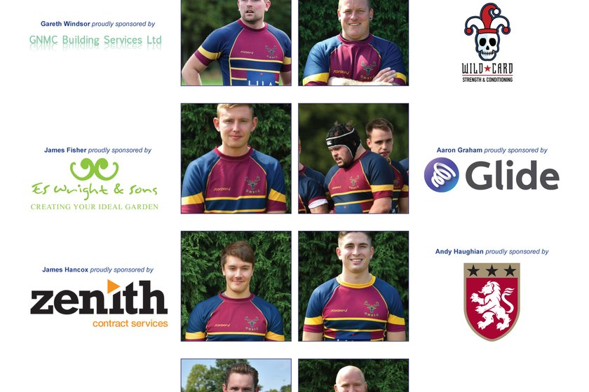 Our Player Sponsors raise £2,500 for the Club