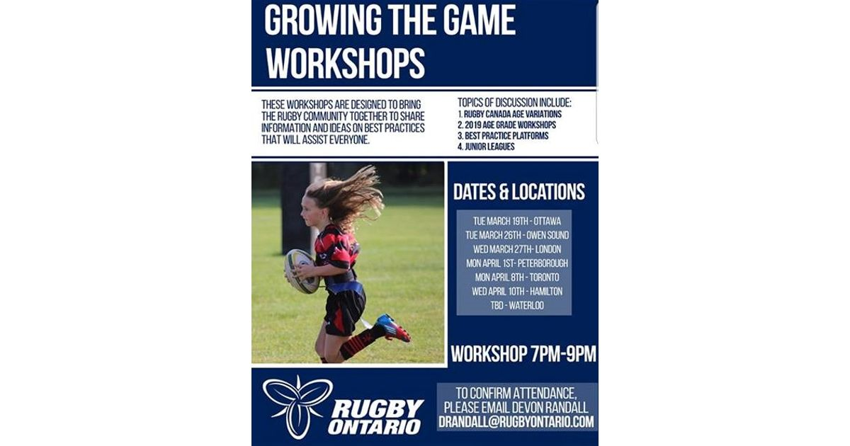 Growing The Game News London St Georges Rfc