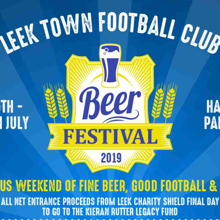 LEEK TOWN BEER FESTIVAL RETURNS