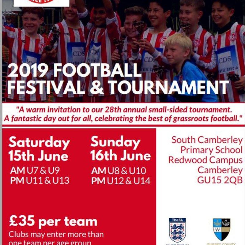 CTYFC 2019 Tournament Invite