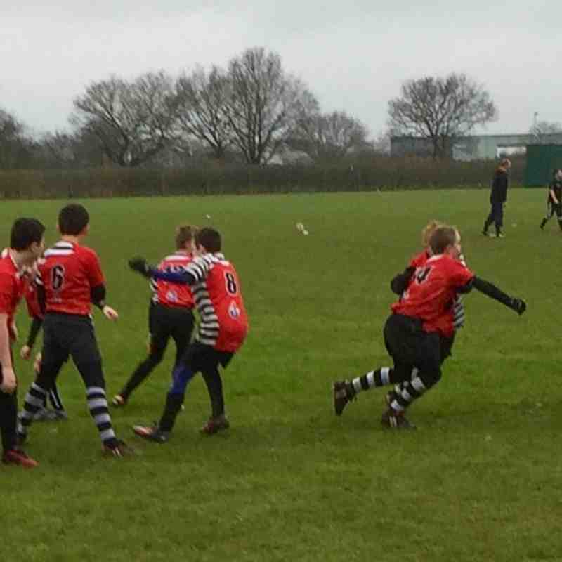 Under 12 v Colchester - 24th January 2016