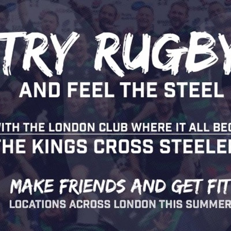 Try rugby with the Kings Cross Steelers