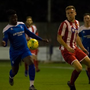 Nyadzayo hits a brace to seal Bury's first home points in win over Haringey
