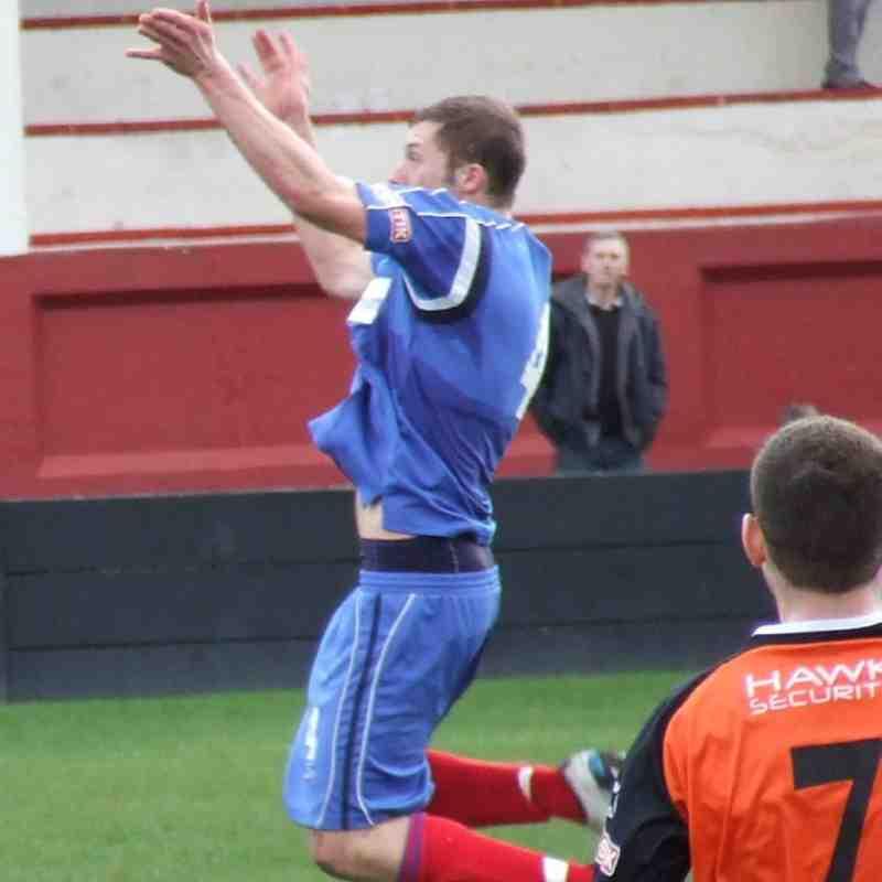 Salford City 0-1 Clitheroe