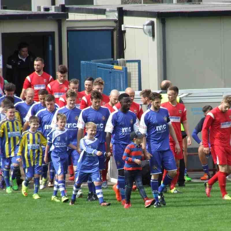 Clitheroe 0-1 Consett AFC 20-08-16