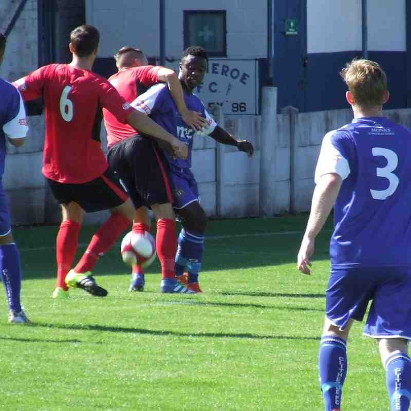 Clitheroe 4-0 Ramsbottom Utd 29-08-2016