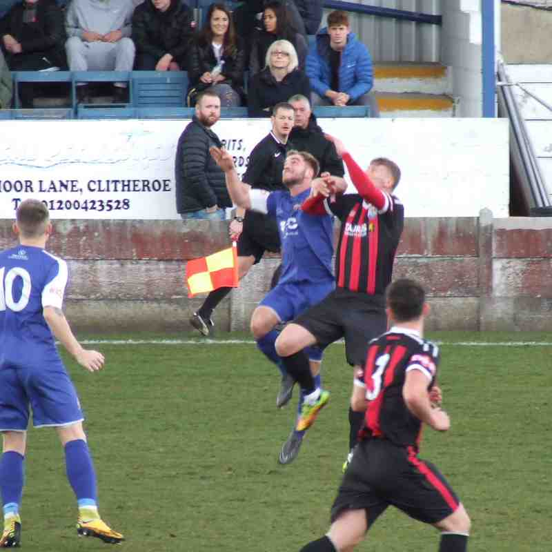 Clitheroe 0-2 Radcliffe Borough 24-03-18